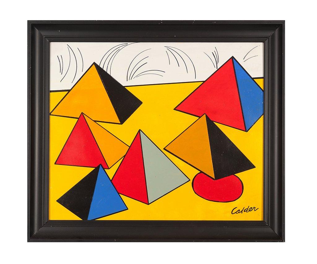 008 Alexander Calder 70x60 cm