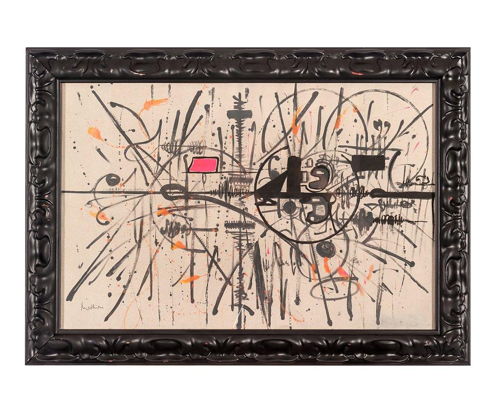015 Georges Mathieu 70x50 cm