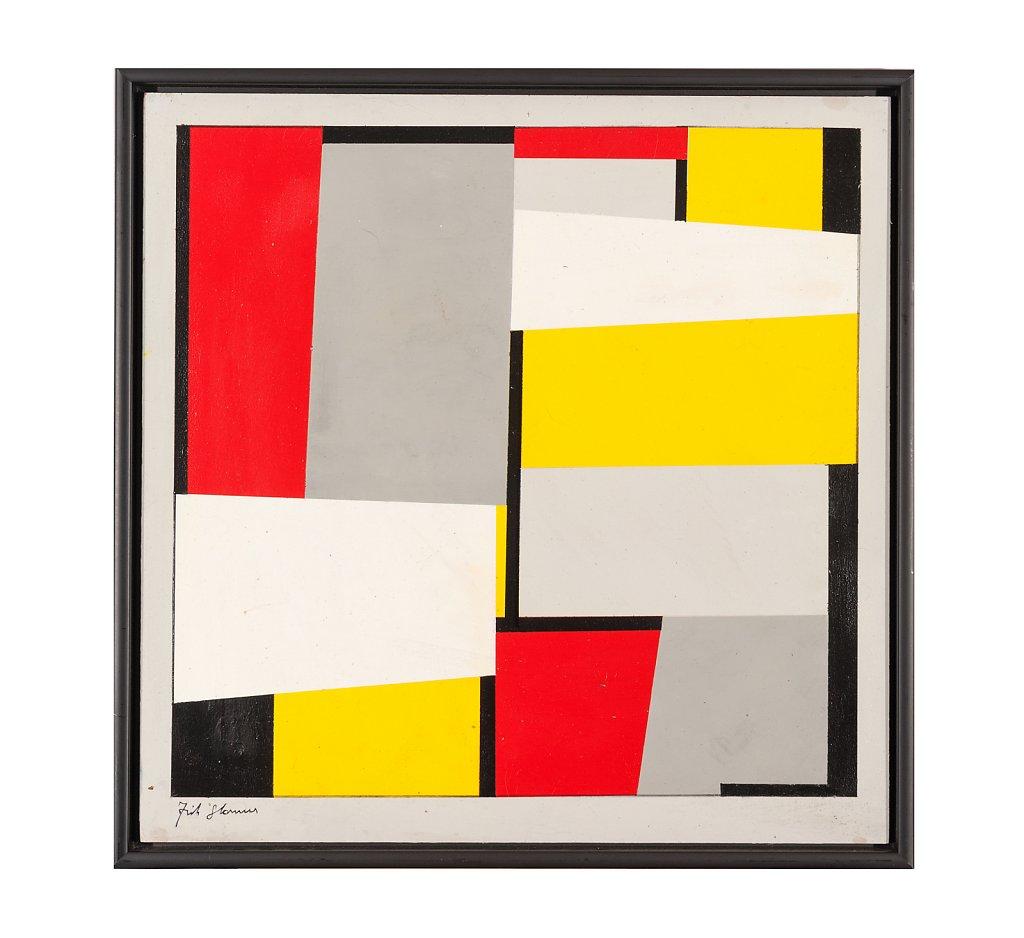018 Fritz Glarner 54x54 cm