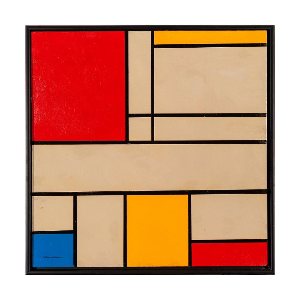 037 Piet Mondrian 64x64