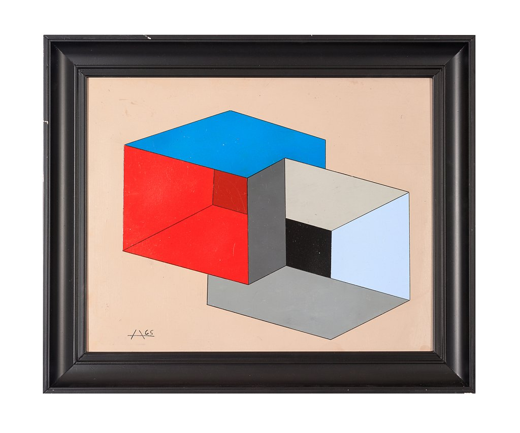 050 Josef Albers 60x50 cm