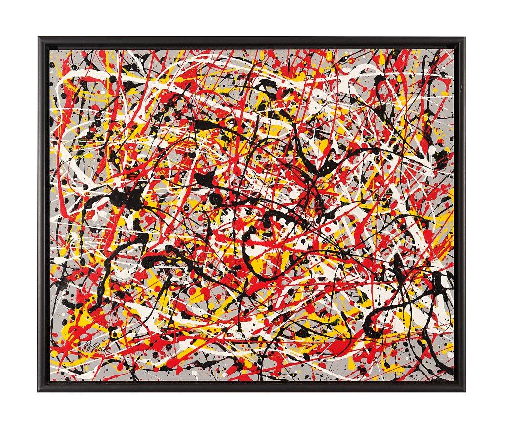 060 Jackson Pollock 60x50 cm