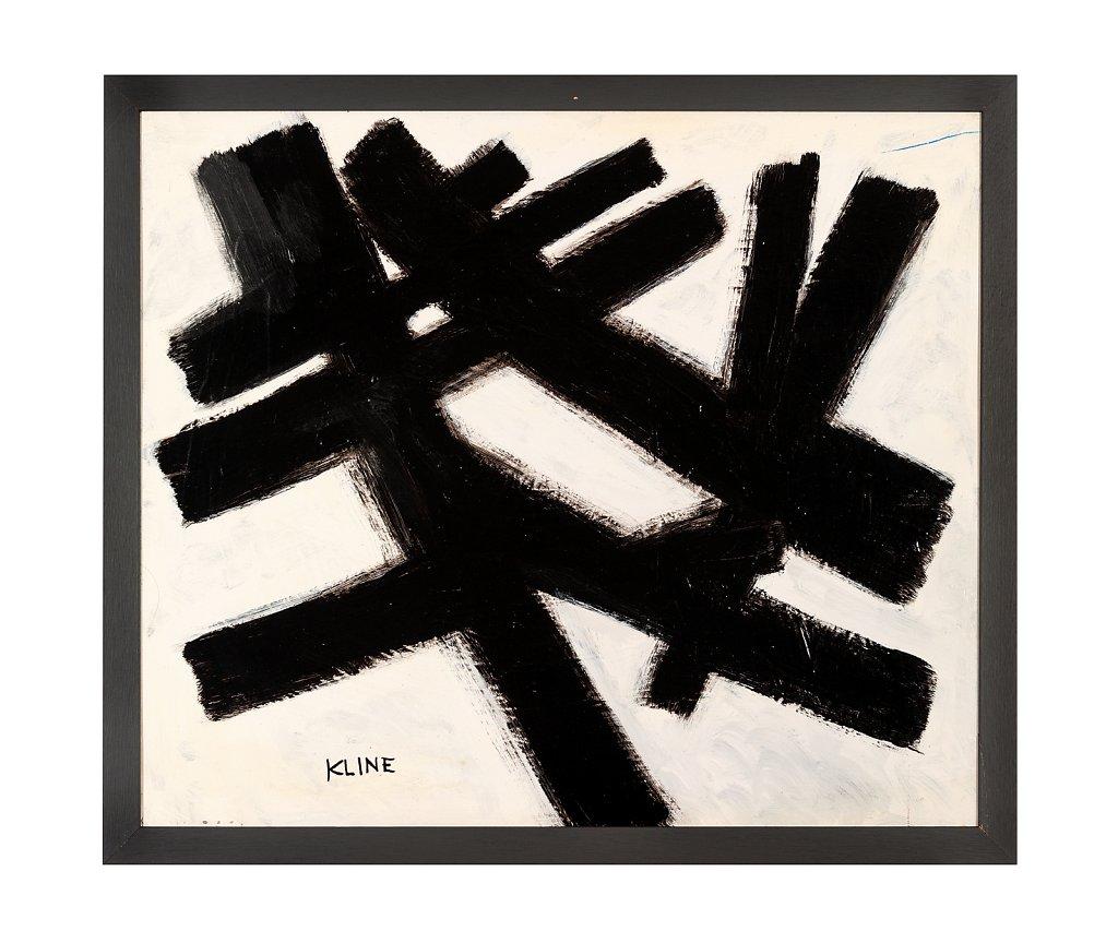 062 Franz Kline 71x61 cm